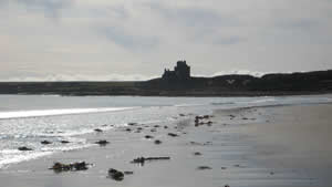 Beautiful beaches in Caithness - Reiss Beach and Ackergill Tower