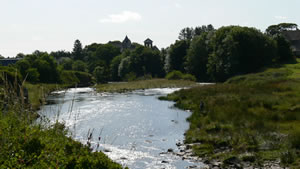 River Thurso for salmon fishing