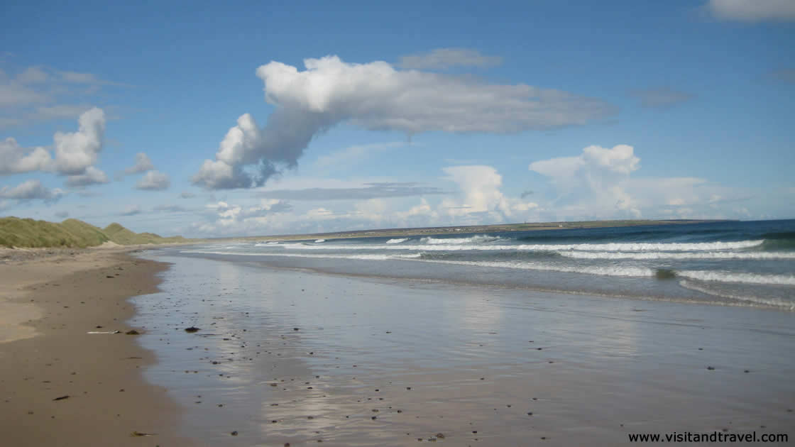 Scotland beaches - Reiss and Keiss beach in Caithness